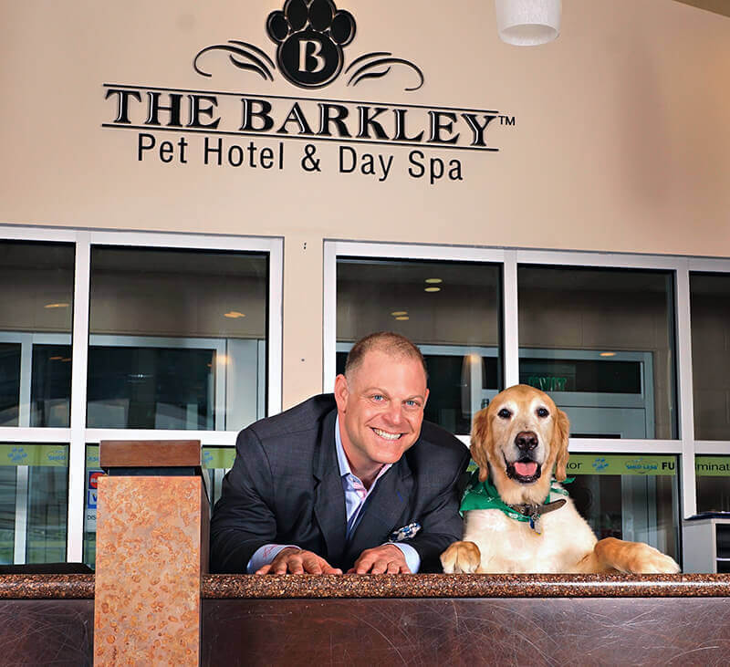 The barkley pet hotel day spa pet boarding and daycare for A family pet salon