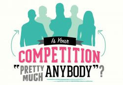 "Is Your Competition ""Pretty Much Anybody""?"