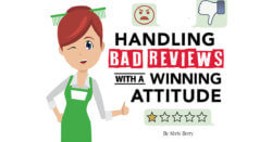 Handling Bad Reviews with a Winning Attitude